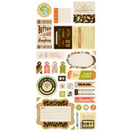 BasicGrey - Hipster Collection - Cardstock Stickers - Titles