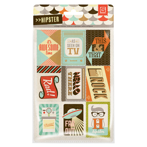 BasicGrey - Hipster Collection - Vintage Stamps