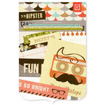 BasicGrey - Hipster Collection - Journaling Cards - Snippets