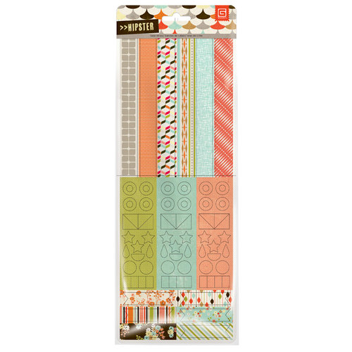 BasicGrey - Hipster Collection - Vellum Tape Stickers