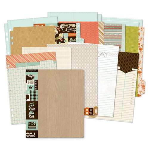 BasicGrey - Hipster Collection - 7 x 9 Journaling Binder