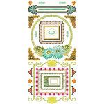 BasicGrey - Hello Luscious Collection - Cardstock Stickers - Frame