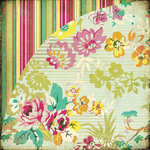 BasicGrey - Hello Luscious Collection - 12 x 12 Double Sided Paper - Blissful