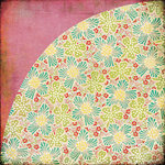BasicGrey - Hello Luscious Collection - 12 x 12 Double Sided Paper - Simply Grand