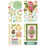 BasicGrey - Hello Luscious Collection - Adhesive Chipboard - Shapes