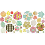 BasicGrey - Hello Luscious Collection - Petals - Die Cut Cardstock and Canvas Pieces, CLEARANCE