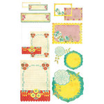 BasicGrey - Hello Luscious Collection - Take Note Journaling Cards with Transparencies