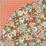 BasicGrey - Hopscotch Collection - 12 x 12 Double Sided Paper - Hoppy Taw