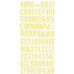 BasicGrey - Hopscotch Collection - Mini Monogram Stickers
