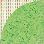 BasicGrey - Herbs and Honey Collection - 12 x 12 Double Sided Paper - Peas
