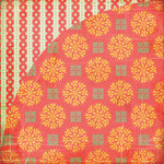 BasicGrey - Indie Bloom Collection - 12 x 12 Double Sided Paper - Mural