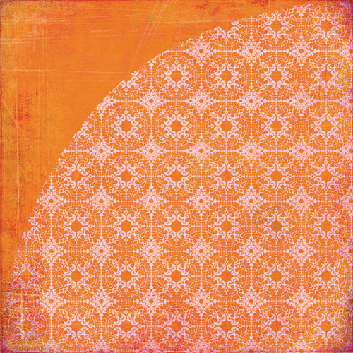 BasicGrey - Indie Bloom Collection - 12 x 12 Double Sided Paper - Mole