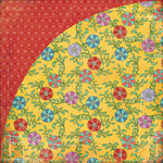 BasicGrey - Indie Bloom Collection - 12 x 12 Double Sided Paper - Tortilla
