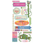 BasicGrey - Indie Bloom Collection - Title Stickers