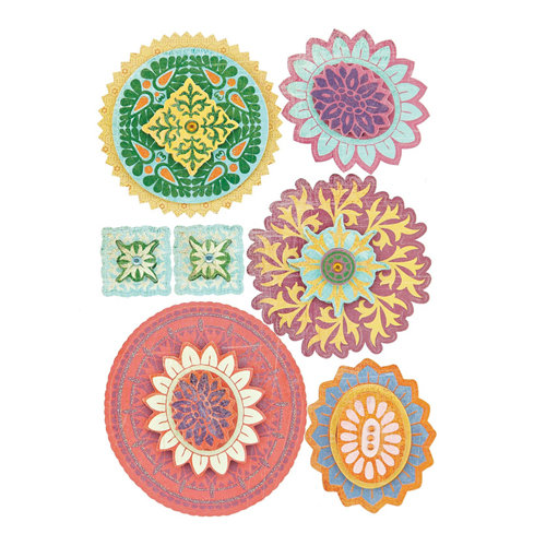 BasicGrey - Indie Bloom Collection - Layered Stickers