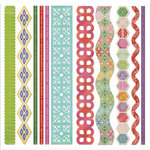 BasicGrey - Indie Bloom Collection - Canvas and Cardstock Borders