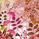 BasicGrey - Indian Summer Collection - 12 x 12 Paper - Milkweed