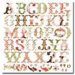 BasicGrey - Monograms Die-Cuts - Infuse - Bon Bon