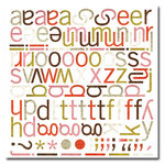 BasicGrey - Monograms Die-Cuts - Infuse - Sweet Meat