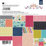 BasicGrey - J'Adore Collection - 6 x 6 Paper Pad