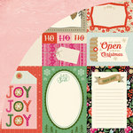 BasicGrey - Juniper Berry Collection - Christmas - 12 x 12 Double Sided Paper - Journaling Card Sheet