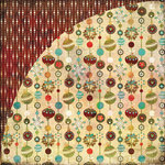 BasicGrey - Jovial Collection - 12 x 12 Double Sided Paper - Christmas Tree