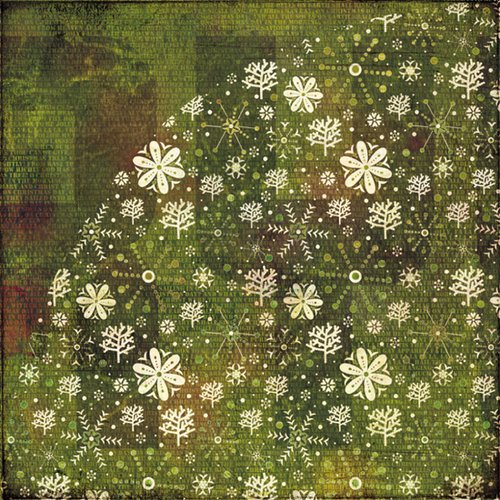 BasicGrey - Jovial Collection - 12 x 12 Double Sided Paper - Frosted Window
