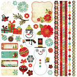 BasicGrey - Jovial Collection - 12 x 12 Element Stickers - Shapes