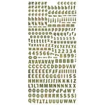BasicGrey - Jovial Collection - Micro Monogram Stickers
