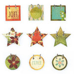 BasicGrey - Jovial Collection - Small Details - Decorative Stickers - Fasteners