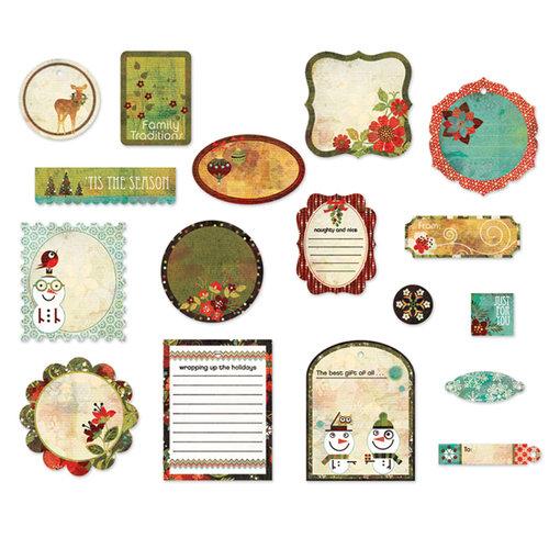BasicGrey - Jovial Collection - Die Cut Cardstock Pieces