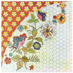 BasicGrey - June Bug Collection - 12 x 12 Double Sided Paper - Broken China, CLEARANCE