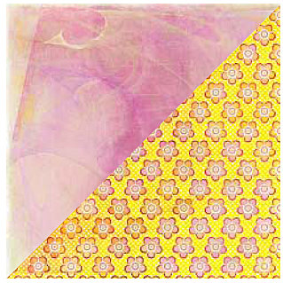 BasicGrey - June Bug Collection - 12 x 12 Double Sided Paper - Strawberry Cheesecake