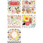BasicGrey - June Bug Collection - Rub On Book - Olio