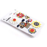 BasicGrey - June Bug Collection - Woolies - 3 Dimensional Felt Stickers, CLEARANCE