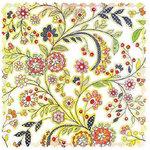 BasicGrey - June Bug Collection - Doilies - 12 x 12 Die Cut Paper - Flowers