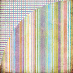BasicGrey - Kioshi Collection - 12 x 12 Double Sided Paper - Rebun, CLEARANCE