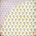 BasicGrey - Kioshi Collection - 12 x 12 Double Sided Paper - Lily Child, CLEARANCE