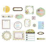 BasicGrey - Kioshi Collection - Die Cut Cardstock Pieces, CLEARANCE