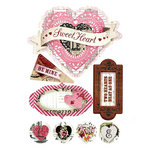 BasicGrey - Kissing Booth Collection - Layered Stickers - Banner