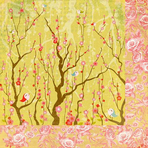 BasicGrey - Konnichiwa Collection - 12 x 12 Double Sided Paper - Matsuri