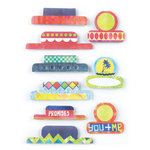 BasicGrey - Lauderdale Collection - Office Tabs - Self Adhesive Paper Labels