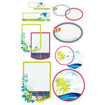 BasicGrey - Lauderdale Collection - Take Note Journaling Cards with Transparencies