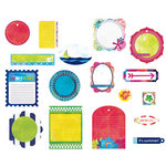 BasicGrey - Lauderdale Collection - Die Cut Cardstock Pieces