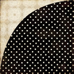 BasicGrey - Little Black Dress Collection - 12 x 12 Double Sided Paper - Black and White