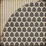 BasicGrey - Little Black Dress Collection - 12 x 12 Double Sided Paper - Dapper