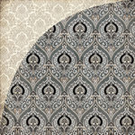 BasicGrey - Little Black Dress Collection - 12 x 12 Double Sided Paper - Shades of Grey