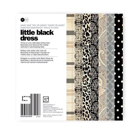 BasicGrey - Little Black Dress Collection - 6 x 6 Paper Pad