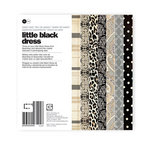 BasicGrey - Little Black Dress Collection - 6 x 6 Paper Pad