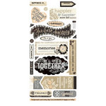 BasicGrey - Little Black Dress Collection - Title Stickers